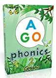 AGO エーゴ カードゲーム フォニックス グリーン (レベル2) 第2版 【 英語 教材 ゲーム 】 AGO Card Game Phonics Green (Level2) 2nd Edition