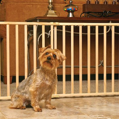 Midwest Pet Gate, 53-Inch to 96-Inch w by 24-Inch Tall