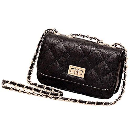 ZEARO MODA donna borsa a tracolla pelle borsetta spalla handbag dolce