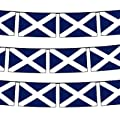 Scotland Flag Bunting, fabric 9m/30 flags