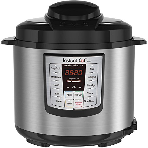 Instant Pot 3.5 Quarts and 6-In-1 Multi-Functional Stainless Steel Electric Pressure Cooker