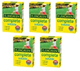 5 x Boxes Of EverGreen Complete Soluble Lawn Feed - 30 sq.m Coverage
