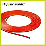 Hypersonic� HP6188 Flexible Dekorative Stylingleiste Zierleiste Deko-Band f�rs Auto , stylisch ,selbstklebend , f�r Ihnen und Aussen , macht Ihr Fahrzeug attraktiv , ROT , 5 Meter