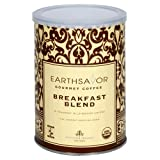 EarthSavor Gourmet Coffee Breakfast Blend 10 Ounce Cans  Pack of 3