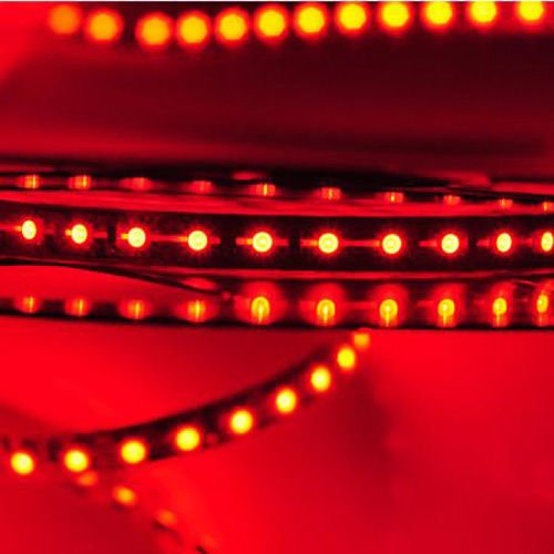 Happy Hours® Super Bright Red 1-30M 3528 Smd 120 Leds/M Led Strips Light Non-Waterproof + 12V Dc Power Adapter 20 Meters