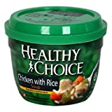 511 Ap1OyjL. SL160  Healthy Choice Chicken with Rice Soup, 14 Ounce Microwave Bowls (Pack of 12)