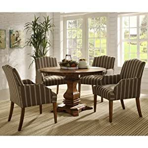 Homelegance euro casual 5 piece round for Casual dining room ideas round table