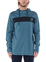 Nike Hurley Camiseta Manga Larga Twilight (Azul)