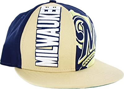 Milwaukee Brewers NE NC Embroidered 9FIFTY Snapback Cap