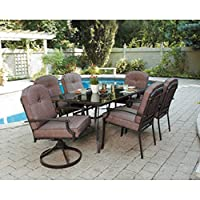 Mainstays Wentworth 7-piece Patio Dining Set, Seats 6 from Mainstays