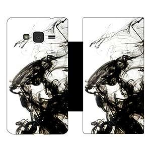 Skintice Designer Flip Cover with hi-res printed Vinyl sticker wrap-around for Samsung Galaxy J3 (2016)