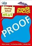 Carol Medcalf Starting School Age 4-5 (Letts Monster Practice)