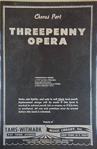 The Threepenny Opera Essay