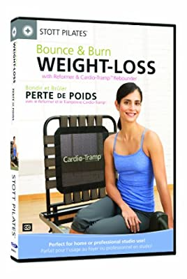 Stott Pilates Bounce and Burn Weight Loss with The Cardio-Tramp Rebounder DVD (England/France)