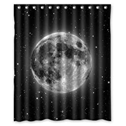 Custom Astronomy Space Waterproof Polyester Fabric 60\