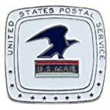 U.S. Mail Pin White 1