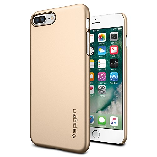iPhone-7-Plus-Case-Spigen-Thin-Fit-Exact-Fit-Champagne-Gold-Premium-Matte-Finish-Hard-Case-for-Apple-iPhone-7-Plus-043CS20734