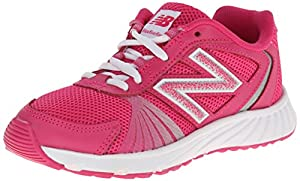 New Balance KJ555 Youth Lace Up Running Shoe (Little Kid),Pink/Purple,1.5 W US Little Kid