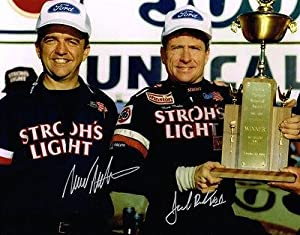 Autographed Mark Martin Photograph - JACK ROUSH 11X14 1ST VICTORY COA - Autographed... by Sports Memorabilia