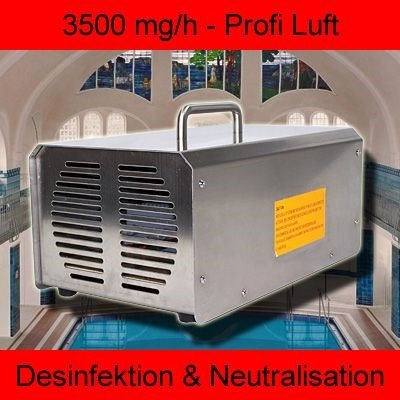 Ozonisator Ozon-Generator Ozongenarator