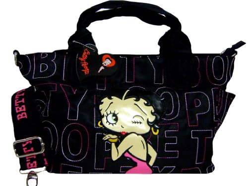 Fancy Betty Boop Pink Dress Handbag Free Pen