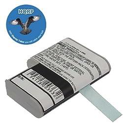 HQRP Battery for SYMBOL PDT-3124 PDT-3140 PDT-3142 PDT-3146 21-36897-02 Bar Code Scanner, Motorola plus HQRP Coaster