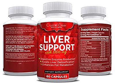Liver Cleanse and Detox Supplement, Best for Liver Health (60 Caps)