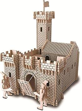 Château de Chevalier QUAY Kit de construction en bois FSC