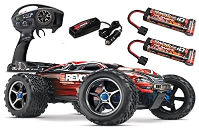 Traxxas 56087-1 E-Revo Brushless: 4WD Brushless Electric Racing Monster Truck, Ready-To-Race (1/10-Scale), Colors May Vary