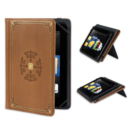 Verso &quot;Prologue&quot; Standing Cover for Kindle Fire HD 8.9&quot;,  Antique Tan (will only fit Kindle Fire HD 8.9&quot;)