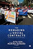 img - for The Remaking of Social Contracts: Global feminists in the 21st Century book / textbook / text book