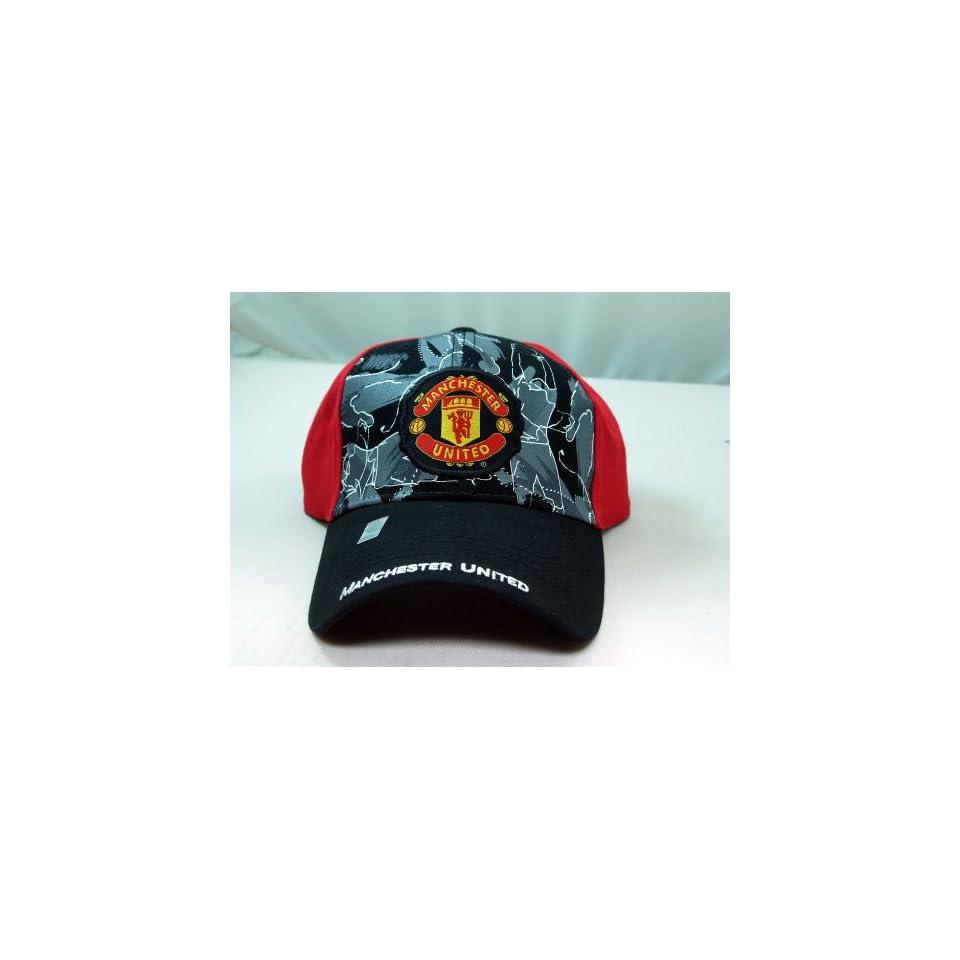 FC MANCHESTER UNITED OFFICIAL TEAM LOGO CAP / HAT   MU004