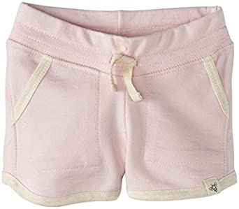 Burt's Bees Baby Baby Girls' French Terry Short (Baby) - Petal Pink