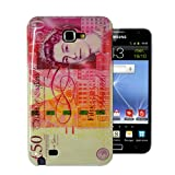 For Samsung Galaxy Note N7000 / I9220 Brand New Union Jack / Sterling Note Design Glossy Hard Shell Mobile Phone Case Cover by eFEEL (£50 pound note Design)