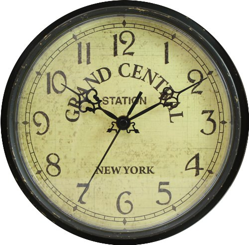 Want a grand central station clock three railway clocks for Train station style wall clock