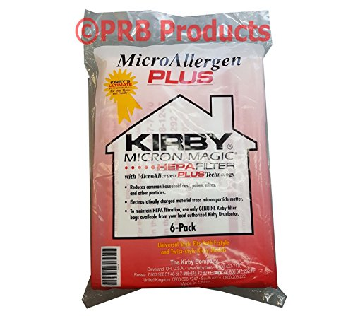 Kirby Hepa Filter MicroAllergen PLUS Vacuum Bag Universal Avalir Sentria Diamond (Universal Shop Vac Filter compare prices)