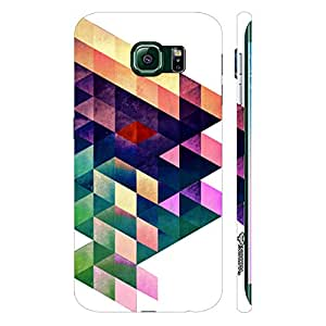 Samsung Galaxy Note5 Edge Abstract Art 7 designer mobile hard shell case by Enthopia