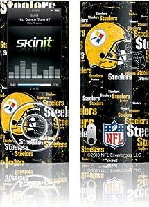 NFL - Pittsburgh Steelers - Pittsburgh Steelers - Blast Dark - iPod Nano (5G) Video - Skinit Skin from SteelerMania