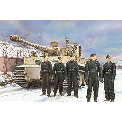 1/35 WW.II ドイツ軍 ティーガーI 初期生産型