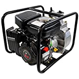 Shop4Omni 4-Stroke 123 GPM 1-1/2 Inch 2.3 HP Gas Powered Portable Water Pump