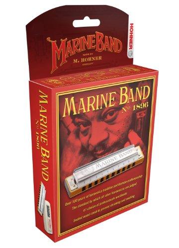 Hohner 1896BX-G Marine Band, Key Of G Major