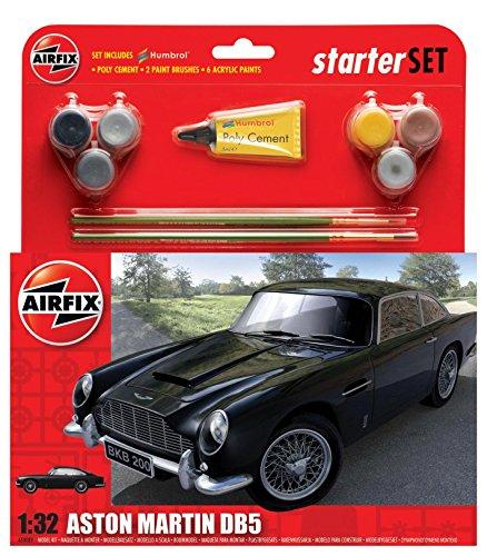 Airfix A50089 - Aston Martin DB5 Medium, set per principianti
