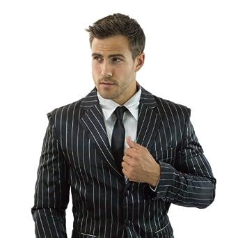 ZBoss Inc Black & Silver Suitjamas Small