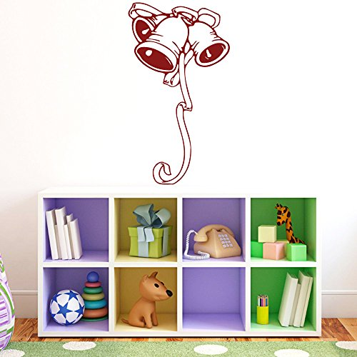 Wall Vinyl Sticker Decal Bells With Ribbon Nursery Room Nice Picture Decor Mural Hall Wall Ki527 back-1031029