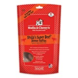 Stella & Chewys Freeze Dried Dog Food for Adult Dogs, Beef Dinner, 15 Ounce Bag