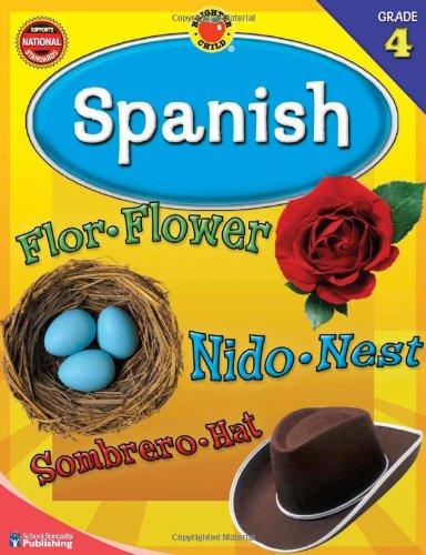 Brighter Child® Spanish, Grade 4 (Brighter Child Workbooks Brighter Child Spanish Workbooks) (English and Spanish Editi