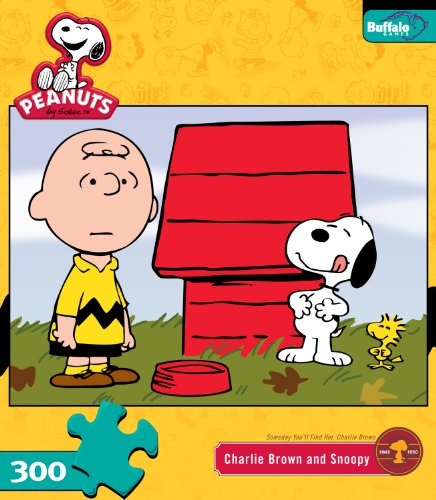 Cheap Buffalo Games Peanuts Charlie And Snoopy 300 Pieces Jigsaw Puzzle (B004Z0PBE6)