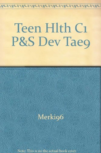 Teen Hlth C1 P&S Dev Tae9 PDF