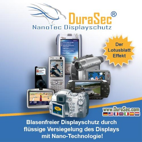 DuraSec NanoTec flüssiger Displayschutz für Sony PRS505 eBook Reader
