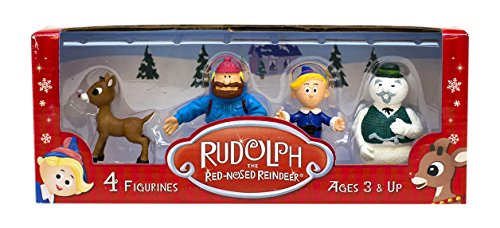 Beverly Hills Teddy Bear Company Rudolph #1 Classic Set (4 Pack) - 1